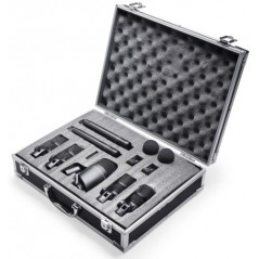 STAGG DMS-5700H - Valise 7 micros pour batterie