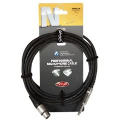 STAGG NMC6XPR Cable microphone XLR / JACK 6M