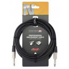 STAGG NGC6R Cable jack droit 6M