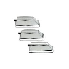 STAGG 1C-BS-HP - Coquilles pour Grosse Caisse (3pcs)